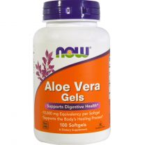 NOW Foods Aloe Vera Gels 10000mg
