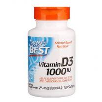 Doctors Best Vitamin D3 1000IU