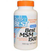 Doctors Best MSM met OptiMSM 1500mg
