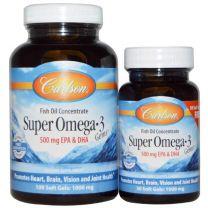 Carlson Super Omega-3 Fish Oil