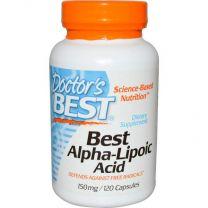 Doctors Best Alpha Lipoic Acid 150mg