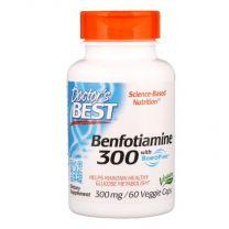 Doctors Best Benfotiamine with BenfoPure 300 mg