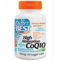 Doctors Best High Absorption CoQ10 100mg