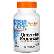 quercetin bromelain 180 veggie caps doctors best