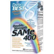 Doctors Best SAM-e 400 Double Strength