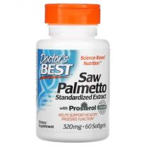 doctors best saw palmetto 320 mg 60 softgels