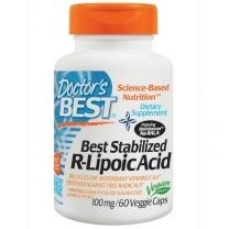 Doctors Best Stabilized R-Lipoic Acid 100 mg