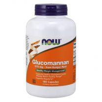 glucomannan 575 mg NOW foods van konjac wortel