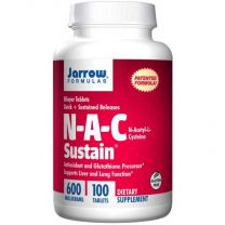 Jarrow Formulas NAC Sustain 600mg