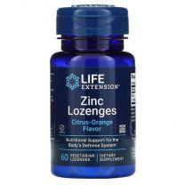 Life Extension, Zinc Lozenges, Citrus-Orange, 60 Vegetarian Lozenges
