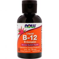 NOW Foods Liquid B-12 B-Complex