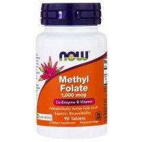 methyl folate 1000 mcg now foods