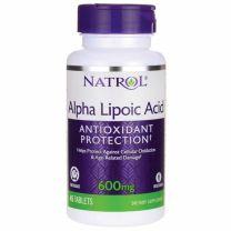 Natrol Alpha Lipoic Acid Time Release 600mg
