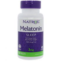 Natrol Melatonin 3mg Time Released