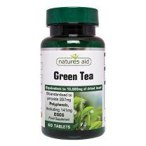 Natures Aid Green Tea 10000mg