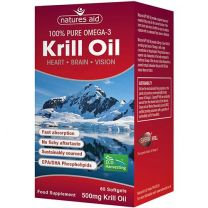 Natures Aid Superba Krill Oil 500mg