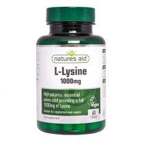 Natures Aid L-Lysine 1000mg