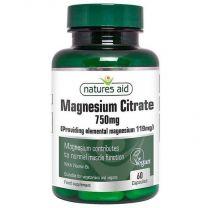 Natures Aid Magnesium Citraat 125mg