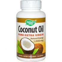 Natures Way Coconut Oil Softgels