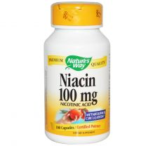 Natures Way Niacin 100mg
