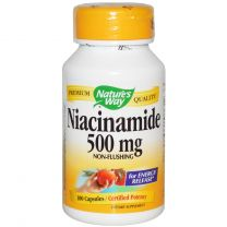 Natures Way Niacinamide - Non flushing 500mg