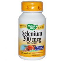 Natures Way Selenium 200mcg