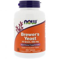 NOW Foods Brewers Yeast 650 mg