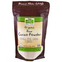 NOW Foods Cacao Powder Raw Biologisch