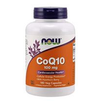 NOW Foods CoQ10 100 mg with Hawthorn Berry