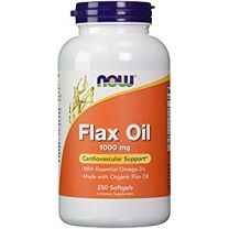 NOW Foods Flax Oil 1000mg