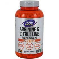 arginine citrulline now foods