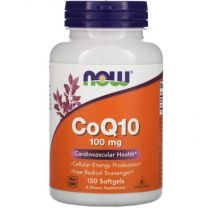 NOW Foods CoQ10 100mg with Vitamin E