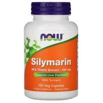 silymarin mariadistel extract 150 mg met kurkuma now foods