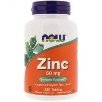 now zink gluconaat 50 mg 250 tabletten