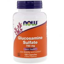 NOW Foods Glucosamine Sulfate 750 mg