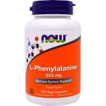 L-phenylalanine 500 mg 120 veg capsules now foods