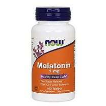 NOW Foods Melatonin 1 mg