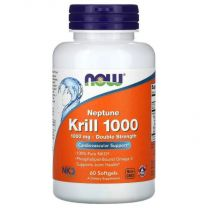 now foods neptune krill olie 1000 mg 60 softgels