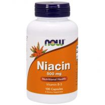 now niacine 500 mg vitamine b3