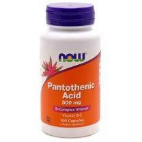 NOW Foods Pantothenic Acid 500mg