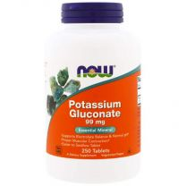NOW Foods Potassium Gluconate