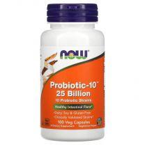 probiotic-10 25 billion NOW foods