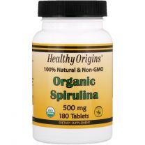 Healthy Origins Spirulina Biologisch 500mg