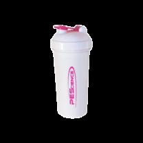 Shaker, White & Pink - 700 ml