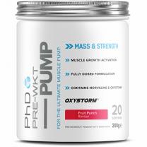 PhD Nutrition PRE-WKT Pump