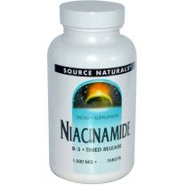 Source Naturals Niacinamide Time Release 1500mg