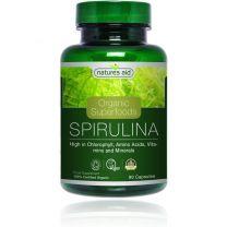 Natures Aid Spirulina 500mg biologisch
