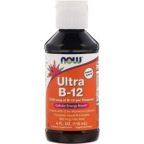 ultra b-12 now foods 118 ml