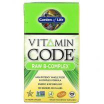 Garden of Life, Vitamin Code, RAW B-Complex, 60 Vegan Capsules